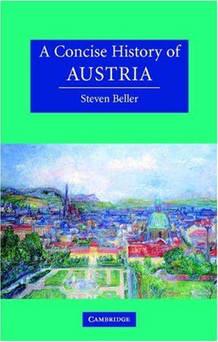 Concise History of Austria   2006 edition cover