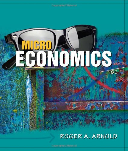 Microeconomics  10th 2011 edition cover