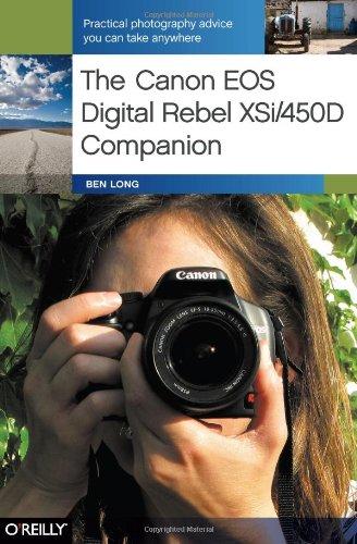 Canon EOS Digital Rebel XSi/450D Companion   2008 (Revised) edition cover