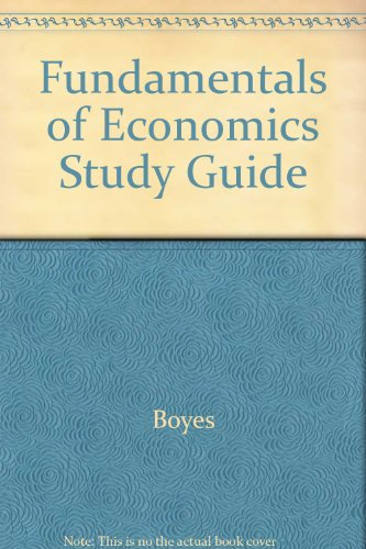 Fundamentals of Economics  2nd 2003 (Guide (Pupil's)) 9780618246861 Front Cover