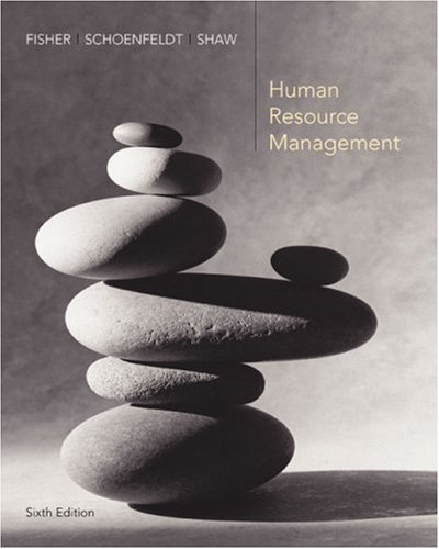 Human Resource Management  6th 2006 edition cover