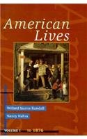 American Lives   1997 edition cover