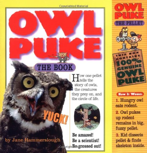 Owl Puke Book and Owl Pellet  2003 edition cover