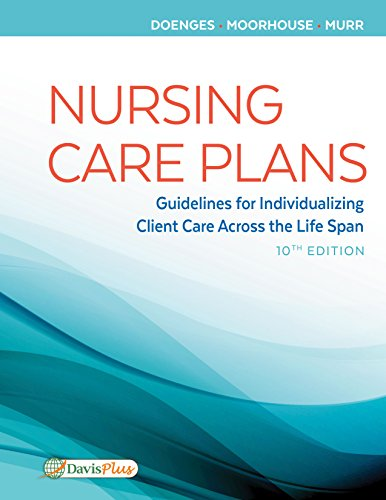 Nursing Care Plans Guidelines for Individualizing Client Care Across the Life Span 10th 2019 (Revised) 9780803660861 Front Cover