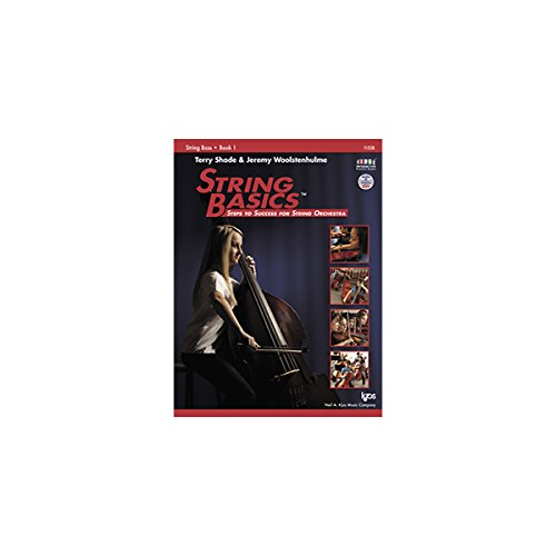Terry Shade/Jeremy Woolstenhulme: String Basics - Book 1: String Bass  0 edition cover