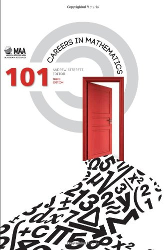 101 Careers in Mathematics  3rd edition cover