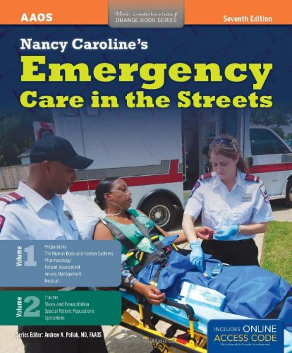 Nancy Caroline's Emergency Care in the Streets  7th 2012 edition cover