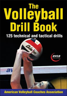 Volleyball Drill Book   2012 9781450423861 Front Cover
