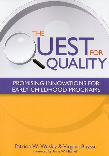 Quest for Quality Promising Innovations for Early Childhood Programs  2010 edition cover