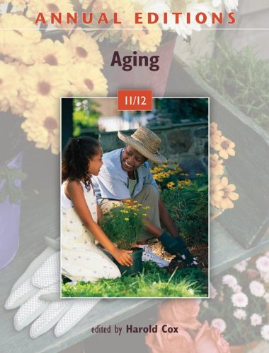 Annual Editions: Aging 11/12  24th 2012 9780078050862 Front Cover