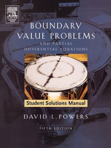 Boundary Value Problems And Partial Differential Equations 5th 2006 (Revised) 9780120885862 Front Cover