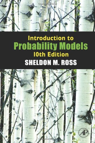 Introduction to Probability Models  10th 2010 edition cover