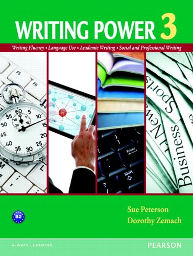 Writing Power Writing Fluency - Language Use - Academic Writing - Social and Professional Writing  2013 edition cover