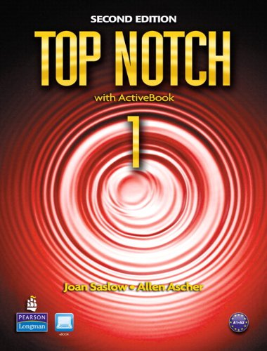 Top Notch 1 Student Book and Workbook Pack  2nd 2011 9780132794862 Front Cover