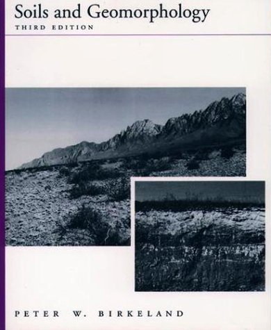 Soils and Geomorphology  3rd 1999 (Revised) edition cover
