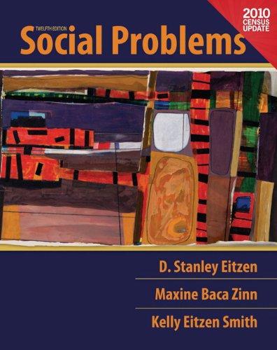 Social Problems, Census Update, Books a la Carte Edition  12th 2012 edition cover