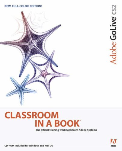 Adobe Golive CS2 Classroom in a Book   2006 9780321321862 Front Cover