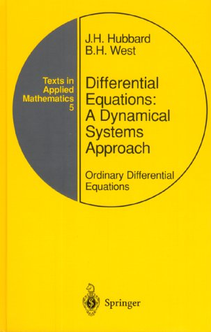 Differential Equations A Dynamical Systems Approach - Ordinary Differential Equations 3rd 1991 (Revised) edition cover