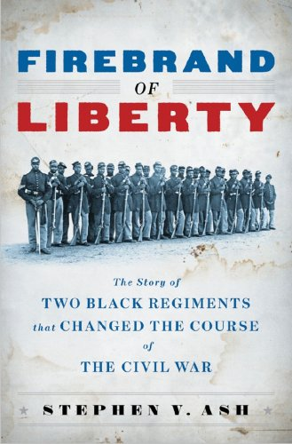 Firebrand of Liberty The Story of Two Black Regiments That Changed the Course of the Civil War  2008 9780393065862 Front Cover