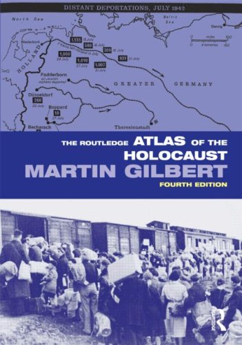 Routledge Atlas of the Holocaust  4th 2009 (Revised) 9780415484862 Front Cover