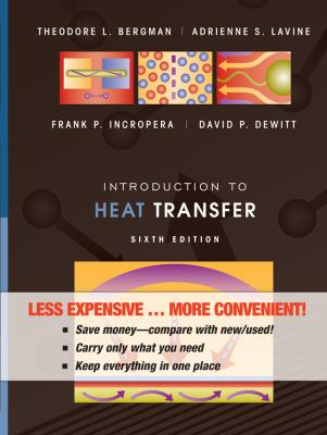 Introduction to Heat Transfer  6th 2011 edition cover