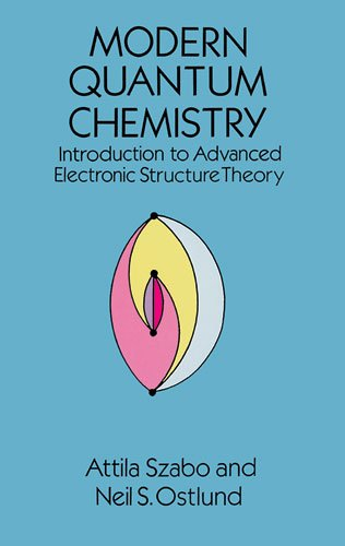 Modern Quantum Chemistry Introduction to Advanced Electronic Structure Theory  1996 edition cover