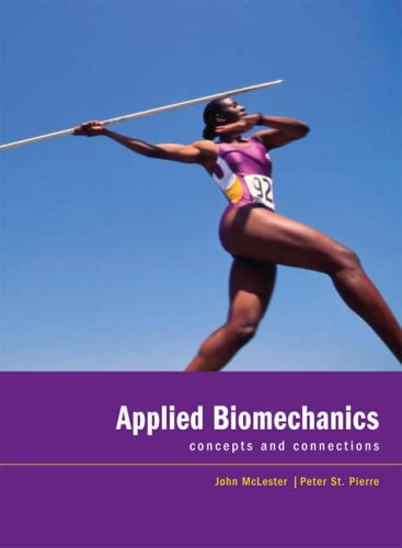 Applied Biomechanics Concepts and Connections 12th 2008 edition cover