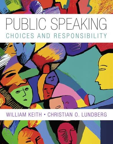 Public Speaking Choice and Responsibility  2014 edition cover