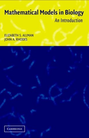 Mathematical Models in Biology An Introduction  2003 edition cover