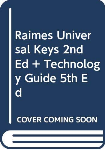 Raimes Universal Keys Second Edition Plus Technology Guide Fifth Edition  2nd 2008 9780618971862 Front Cover