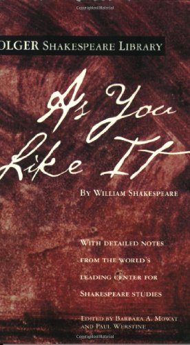 As You Like It   2004 edition cover