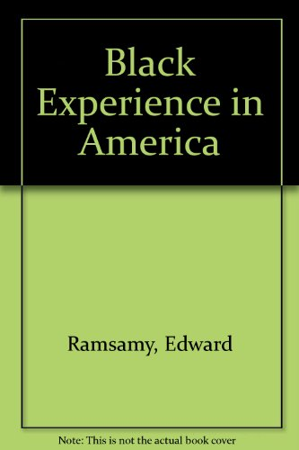 Black Experience in America Revised  9780757526862 Front Cover