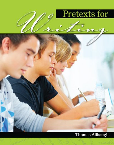 Pretexts for Writing   2009 (Revised) 9780757568862 Front Cover