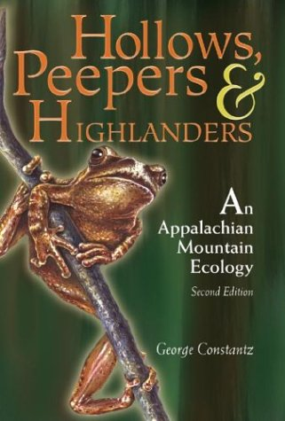 Hollows, Peepers, and Highlanders An Appalachian Mountain Ecology 2nd 2004 edition cover