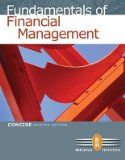 FUND.OF FINANCIAL MGMT.:CONC.- N/A edition cover