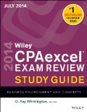 Wiley Cpaexcel Exam Review Spring 2014 Business Environment and Concepts 12th 2014 9781118917862 Front Cover