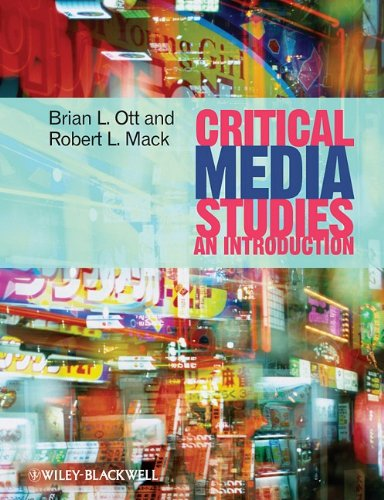Critical Media Studies An Introduction  2009 9781405161862 Front Cover