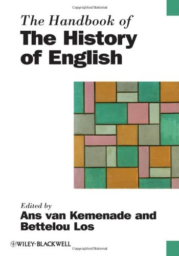 Handbook of the History of English   2006 (Handbook (Instructor's)) 9781405187862 Front Cover