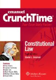 Constitutional Law  Student Manual, Study Guide, etc. edition cover