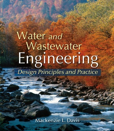 Water and Wastewater Engineering   2011 edition cover