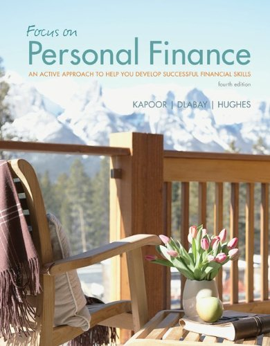 Focus on Personal Finance with Connect Plus  4th 2013 edition cover