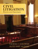 Civil Litigation Process and Procedures 3rd 2015 edition cover