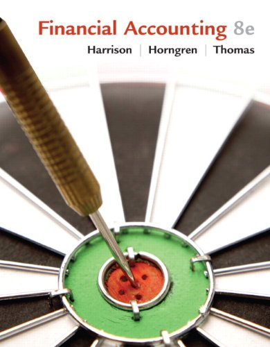 Financial Accounting  8th 2010 edition cover
