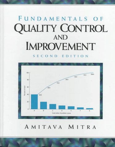 Fundamentals of Quality Control and Improvement  2nd 1998 edition cover
