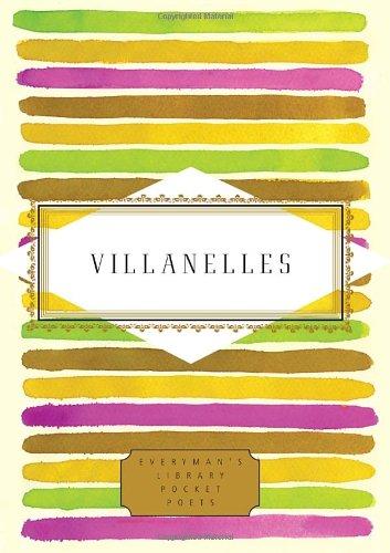 Villanelles   2012 edition cover