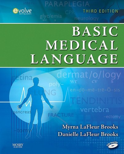 Basic Medical Language  3rd 2010 9780323052863 Front Cover