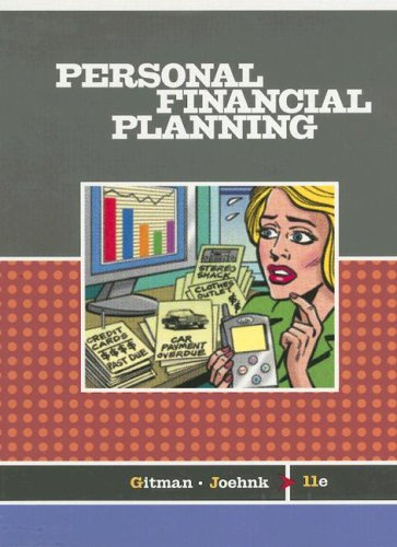 Personal Financial Planning  11th 2008 edition cover