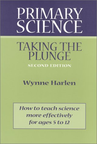 Primary Science Taking the Plunge 2nd 2001 edition cover