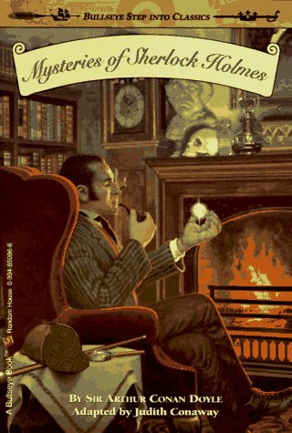 Mysteries of Sherlock Holmes   2001 9780394850863 Front Cover