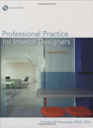 Professional Practice for Interior Designers  4th 2008 (Revised) edition cover